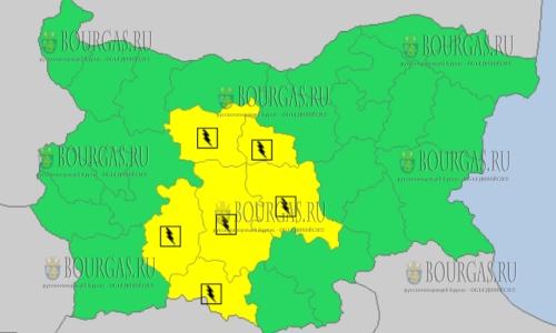 16 июня в Болгарии — грозовой и дождливый Желтый код опасности
