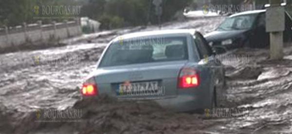 Ливень вчера утопил деревню под Добричем