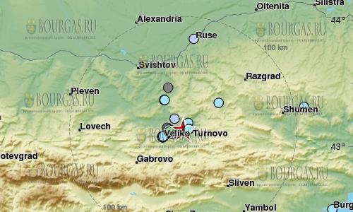 В Болгарии землетрясение магнитудой в 4,2 балла по шкале Рихтера
