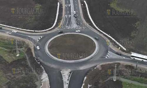 4-х полосный участок автотрассы на участке Поморие — Ахелой готов к эксплуатации