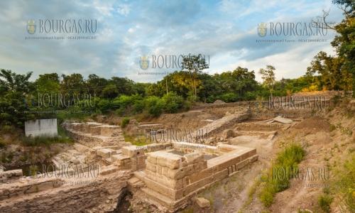 Раскопки в Акве Калиде в Бургасе будут продолжены этим летом