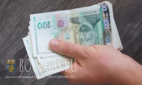 1064 левов — средняя зарплата в Бургасской области в I-м квартале