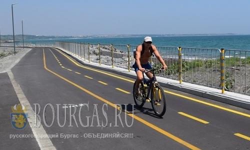 В порту Сарафово может появится велосипедная парковка