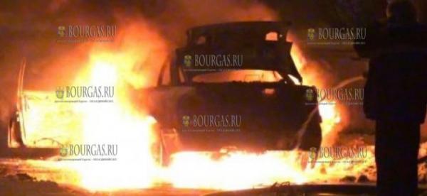 На Солнечном Берегу сгорел автомобиль BMW