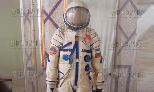 Оригинальный скафандр второго болгарского космонавта выставят на обозрение в Бургасе