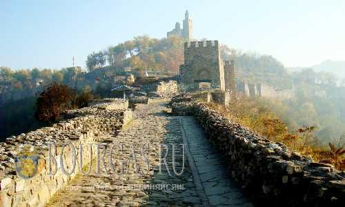 Крепость Царевец в Велико-Тырново один из самых популярных туристических объектов в стране