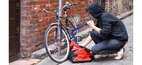 В Бургасе поймали велосипедного вора