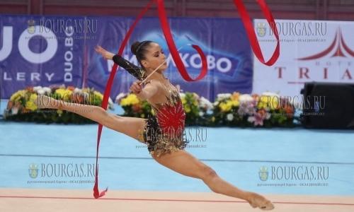 Сборная Болгарии вторая на этапе КМ по художественной гимнастике