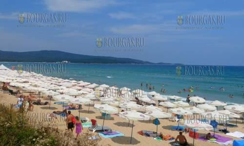 На Северном пляже в Приморско нет мест?