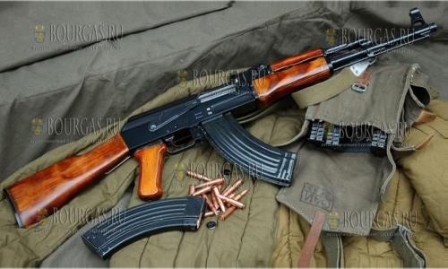 В Болгарии спецслужбы нашли целый арсенал автоматического огнестрельного оружия