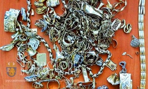 2,5 кг золота незаконно пытались вывезти из Болгарии