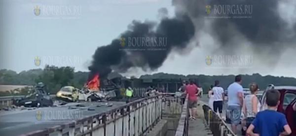 В Болгарии пока не установили личность 5-й жертвы ДТП на автомагистрали Тракия