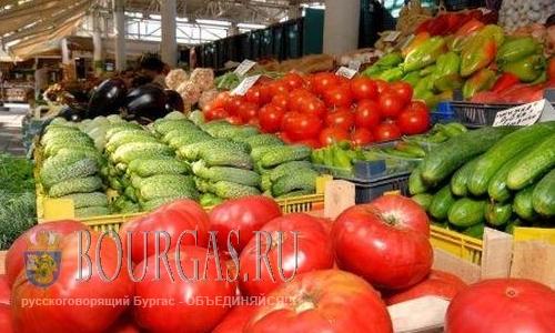 Цены на фрукты и овощи болгарского производства подымутся
