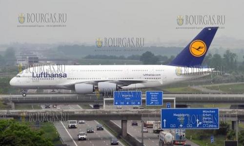 Аэропорты Болгарии перевозят все больше пассажиров