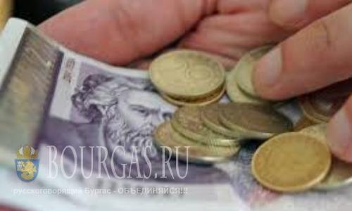 Средняя зарплата в Болгарии будет расти со скоростью 100 лев в год