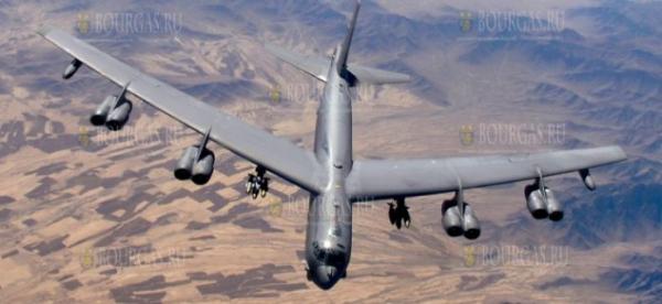 Стратегические бомбардировщики НАТО пролетели в воздушном пространстве Болгарии