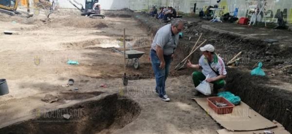 В Болгарии, в Бургасе завершены раскопки фракийского храма в комплексе «Изгрев»