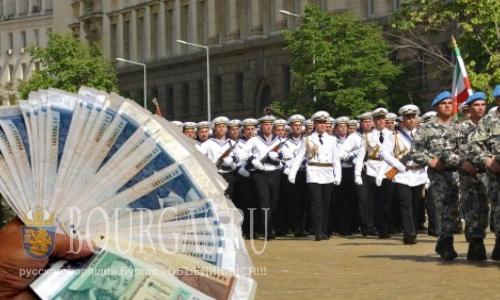 Пенсии болгарских силовиков выше средних по стране