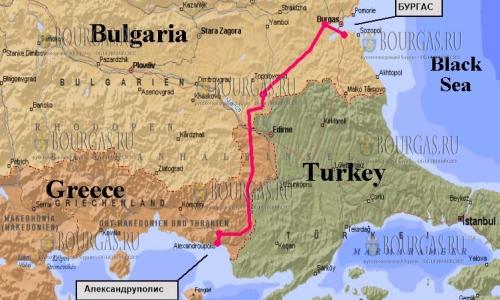 Бургас — Александруполис свяжет скоростная железная дорога