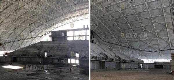 Премьер Болгарии приехал посмотреть на строительство «Арены Бургас»