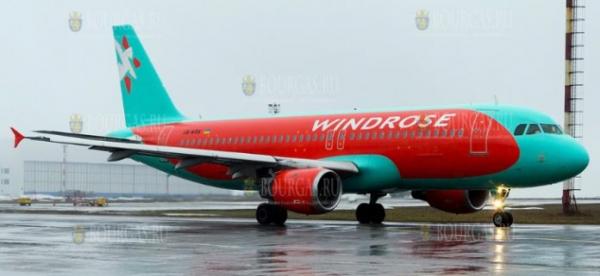 Авиакомпания WindRose возобновляет рейсы из Украины в Болгарию