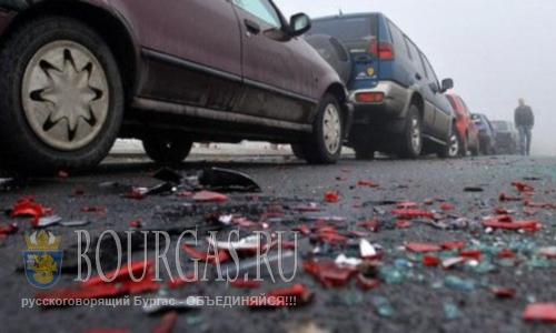 В ДТП в Болгарии пострадали 10 человек
