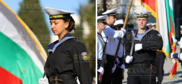 Курсанты Военно-Морского училища в Варне приняли военную присягу