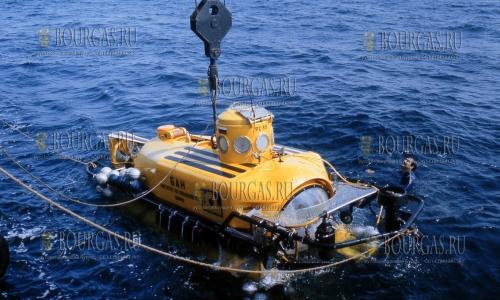 Мини-субмарина изучает Черное море у берегов Болгарии