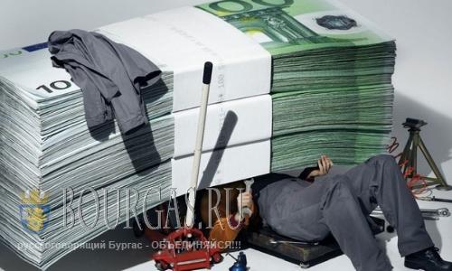 В бюджете Болгарии количество «лишних» денег растет