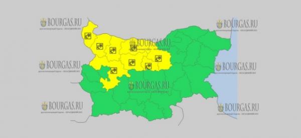 20 ноября в Болгарии — скользкий Желтый код