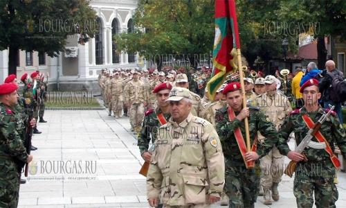 36 болгарский военный контингент прибыл для несения службы в Афганистан
