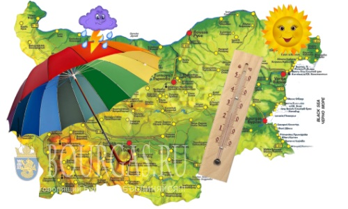 23 июня погода в Болгарии — до +36°С, по летнему жарко, кроме Востока страны