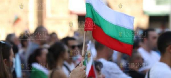 Вчера в Болгарии, во время протестов, был тяжело ранен в голову полицейский
