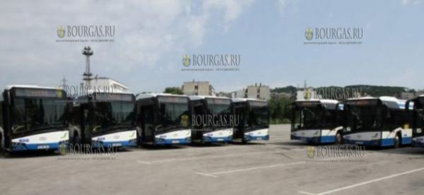 В Варне приобрели 15 новых современных автобусов