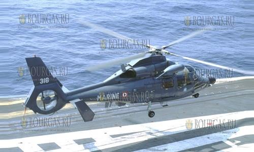 Разбился вертолет ВМС Болгарии