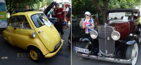 В Бургасе прошел 12-й по счету Ретро-парад автомобилей