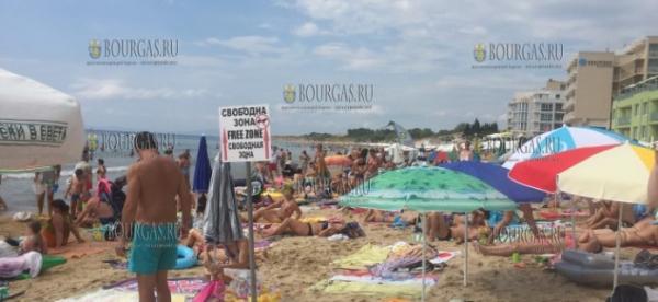Южный пляж Несебр-Юг не зря в этом году имеет Синий флаг