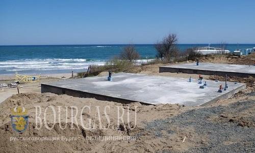 Неподалеку от Царево — начали строительство дачного поселка прямо на пляже