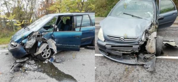 Авария закрыла автостраду по пути в Созополь