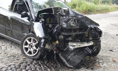 На трассе Бургас — Айтос ДТП со смертельным исходом