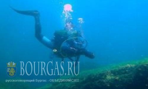 На дне залива «Крокодилите» в Приморско дайверы встретят Пасху