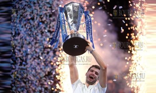Григор Димитров сенсационно выигрывает Итоговый турнир ATP в Лондоне