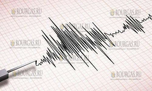 В Болгарии ощущалось землетрясение, которое произошло в Эгейском море