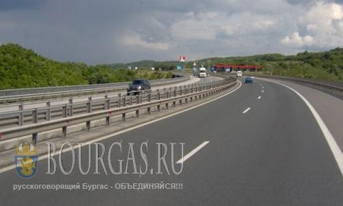 Трасса Бургас — Солнечный Берег закрыта на ремонт