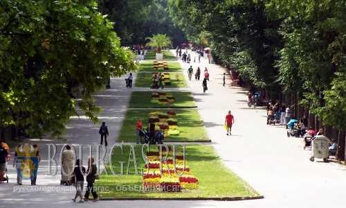 Приморский парк в Варне увеличится в размерах