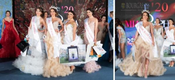 19-летняя Цветелина Маркова — Мисс Варна 2020