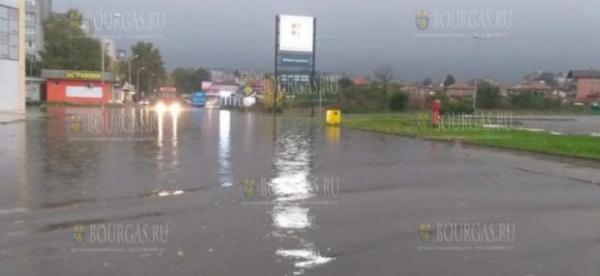 Сегодня улицы Добрича оказались затоплены