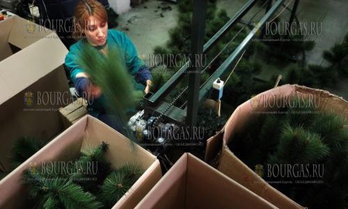 Спрос на искуственные елки в Болгарии растет