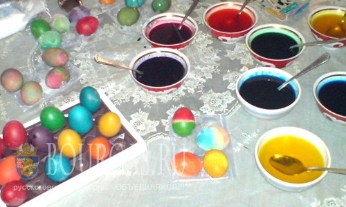 Мастер-класс по окрашиванию яиц