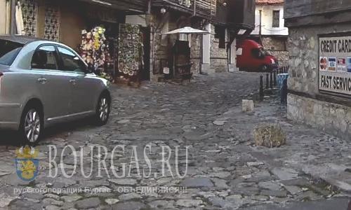 В Несебре Болгария заменят часть мостовой